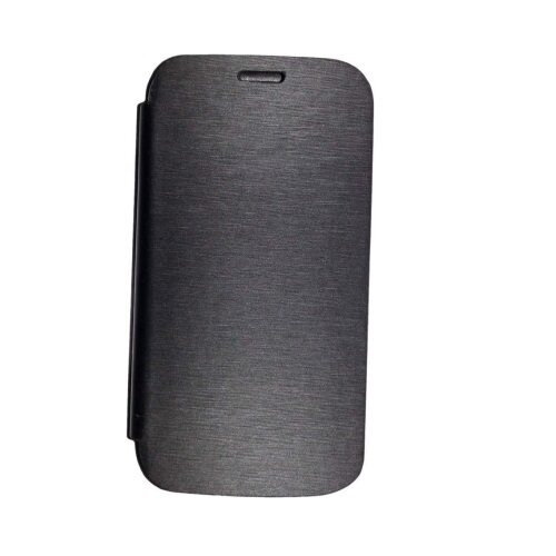 Cover Flip Case For Lenovo A526 (Black)