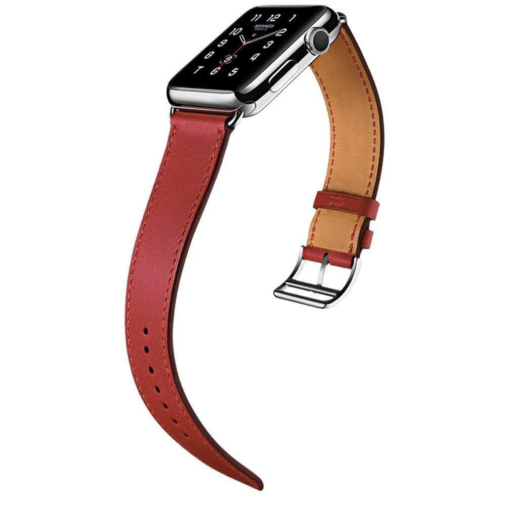 Cow Leather Watch Band Strap for 42mm Apple Watch Series 3/Series 2/Series ...