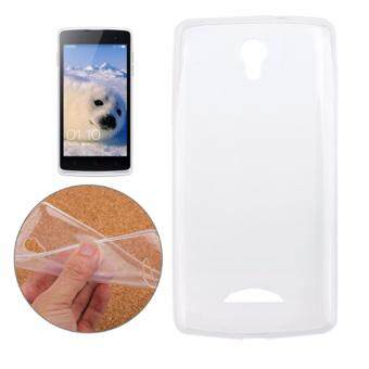Crystal Transparent Soft Silicone TPU Back Cover For OPPO R2001