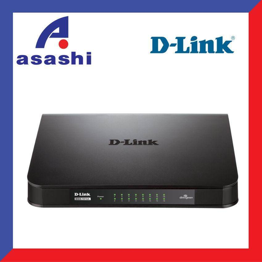 Cheap online D-Link DGS-1016A 16-Port Unmanaged Gigabit Switch