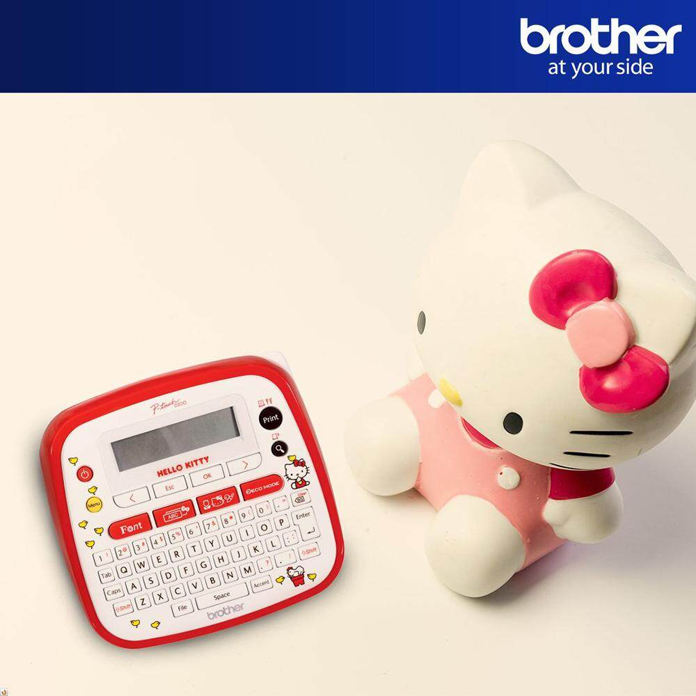 [DEAL] Brother PT-D200KT Label Printer Brother Hello Kitty Label Maker Brother P-Touch PT-D200KT - 2 line Printer, 6-12mm Tape