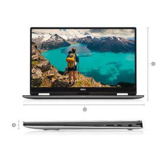 Dell XPS 13 (9365) 2 in 1 Ultrabook (i5-7Y54 3.20Ghz,256GB SSD,8GB,13.3QHDTouch,W10) - Black Malaysia