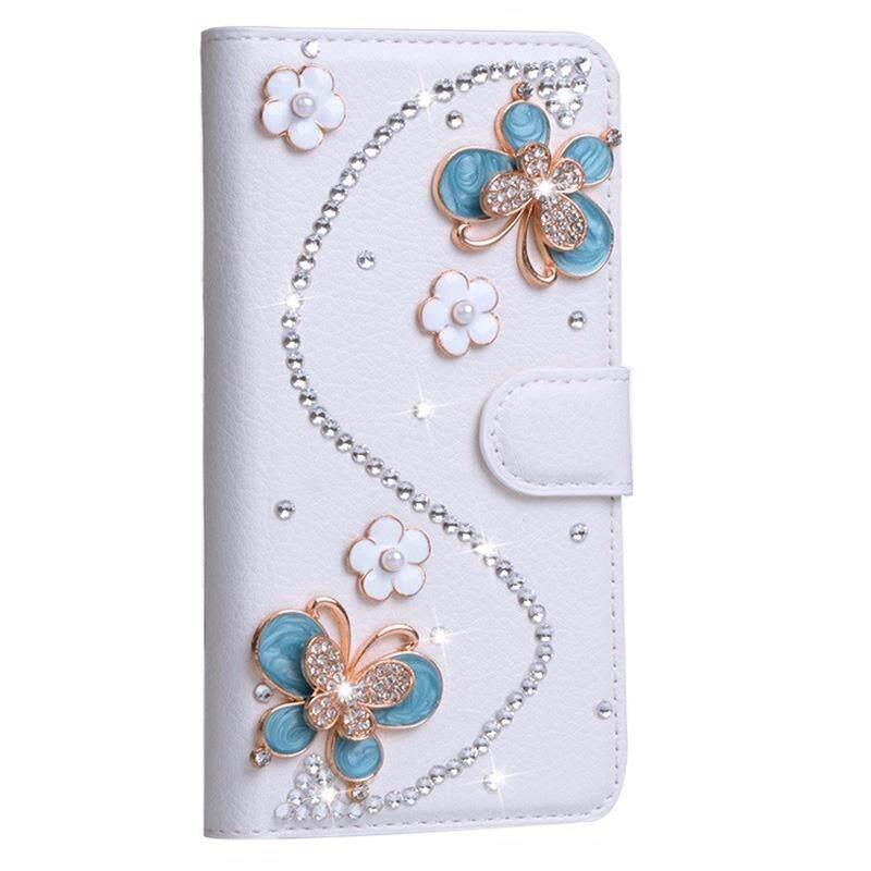Berlian Lipat Kulit Case untuk OPPO R9s Plus Case Berlian Buatan Dompet Case untuk OPPO R9s