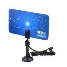 Indoor Antena TV Digital HDTV DTV Ruangan Siap HD Desain Datar VHF Tuaa VHF Tinggi Memperoleh