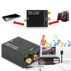 Review Digital Optik Koaksial Toslink Untuk Sinyal Analog Konverter Audio Rca Di Tiongkok
