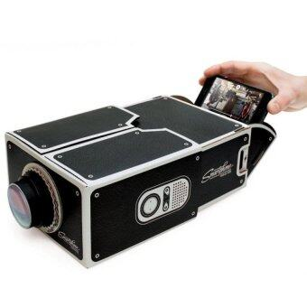 DIY Mobile Projector Home Entertainment Theater Smart Phone Projector New Year gift
