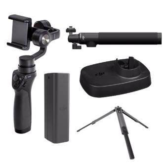 Harga (DJI Malaysia Warranty) DJI Osmo Mobile + Osmo Intelligent Battery+ Osmo Base + Extension stick + Tripod