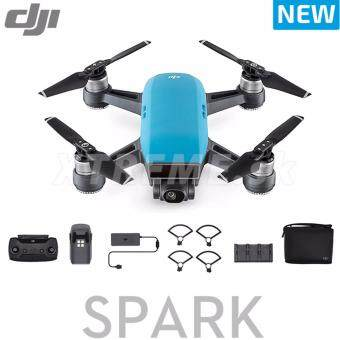 Harga Dji Spark flymore more COMBO color : Blue ( Dji Malaysia Warranty )