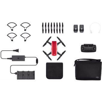 Harga Dji Spark flymore more COMBO color : Red ( Dji Malaysia Warranty )