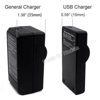 DMW-BCM13 Ultra Slim USB Charger for Panasonic DMC-TZ55 DMC-TZ60DMC-TZ61 Lumix DMC-FT5 DMC-TS5 DMC-TZ70 DMC-ZS40 DMC-ZS50 Cameraand More - 2