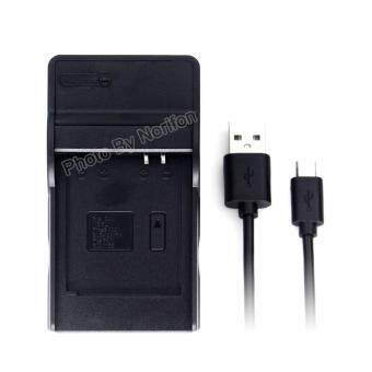 Harga DMW-BCM13 Ultra Slim USB Charger for Panasonic DMC-TZ55 DMC-TZ60DMC-TZ61 Lumix DMC-FT5 DMC-TS5 DMC-TZ70 DMC-ZS40 DMC-ZS50 Cameraand More