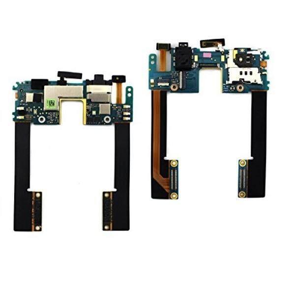 Dogxiong Mikro Ponsel Headphone Mendongkrak Audio SIM Kartu Tray Slot Penahan Daya Fleksibel Kabel untuk HTC Droid DNA X920e- internasional