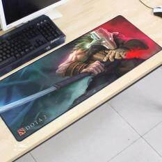Dota2 80 x 30 x 0.2cm DT11 Gaming Mat Non-slip Anti Fray Stitching High Quality Beautiful Mouse Pad Malaysia