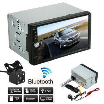 Double 2 Din Car Stereo MP5 MP3 Player Radio Bluetooth USB AUX +Parking Camera - 2