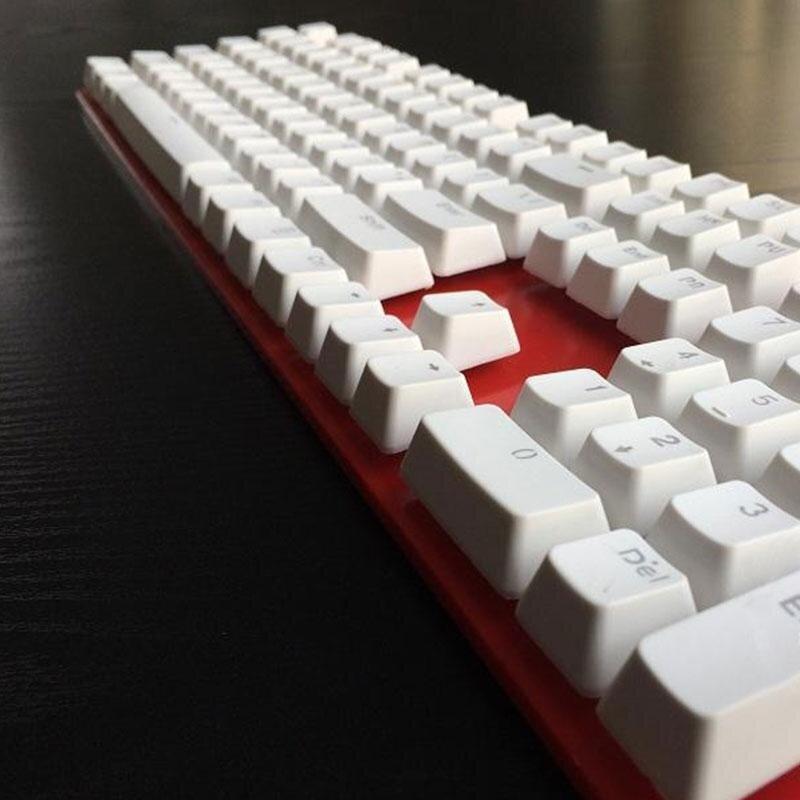 Doubleshot 106 Pcs Set Keycaps Topi Backlit untuk Ceri MX Keyboard Ganti Baru-Internasional