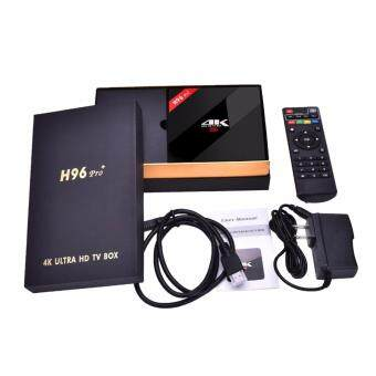 DTD H96 Pro+ Android TV Box 3GB Ram 32G Amlogic S912 Octa Core 4kSet Top Box Andriod 7.1 Dual Wifi Kodi Smart Tv Box - 2
