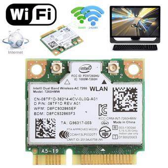 Harga Dual Band Bluetooth 4.0 Wireless Mini PCI-E Card For Intel 7260 ACDELL 7260HMW