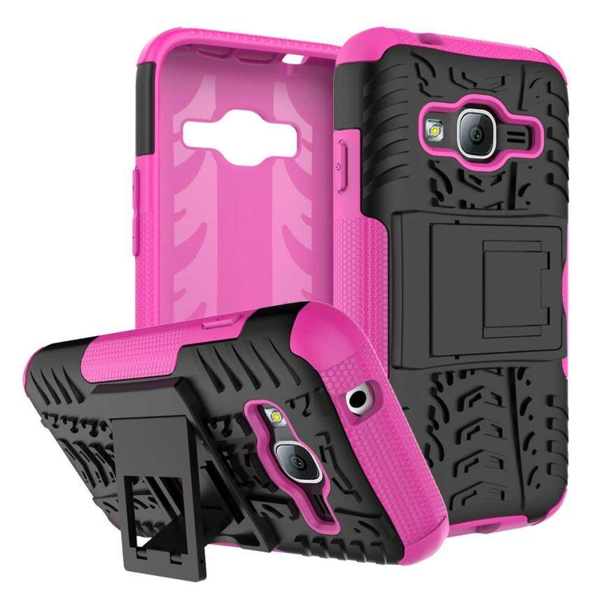 Windcase Dual Layer Case for Samsung Galaxy J1 Mini Prime Hybrid Tough Rugged