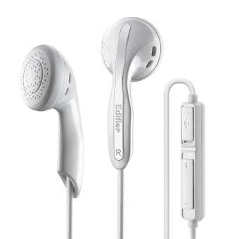 Harga Edifier K180 Communicator Earphone with Microphone (White)