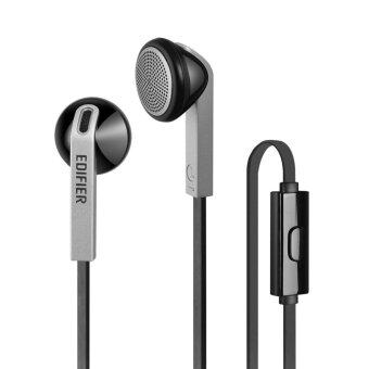Harga Edifier P190 High Performance Designer Mobile Phone Headphones (Black and Silver)