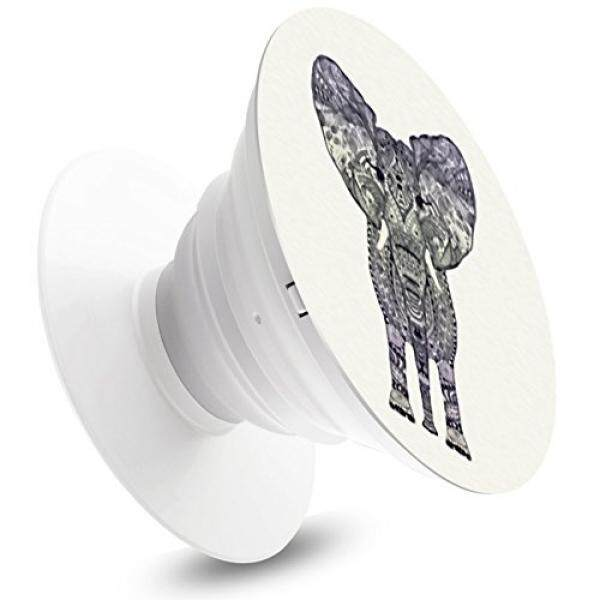 Elephant Pop out Phone Grip and Stand,Expanding Mount Socket for iPhone, iPad, Samsung, HTC, Samsung Galaxy ,LG,Android Phone - intl
