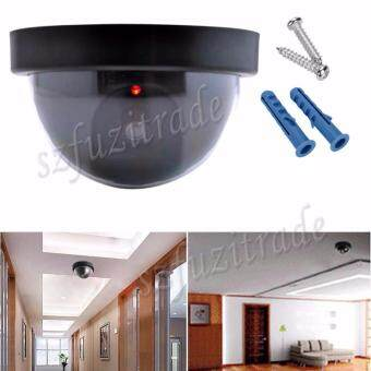 Harga Emulational Fake Security IP CCTV DVR Camera Home Office Guard WithRed Blinking