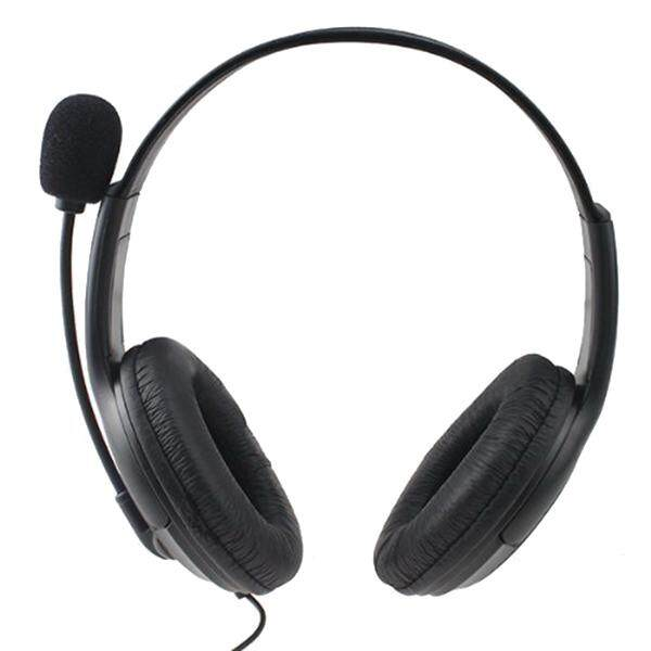 Epoch Earphone Berkabel Permainan Headset Lubang Suara untuk Sony Playstation4 PS4 W/