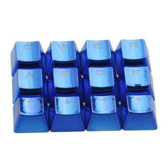 Epoch Mechanical Keyboard Caps PBT Plating Electroplate 12Pcs Keycap For Game Machine