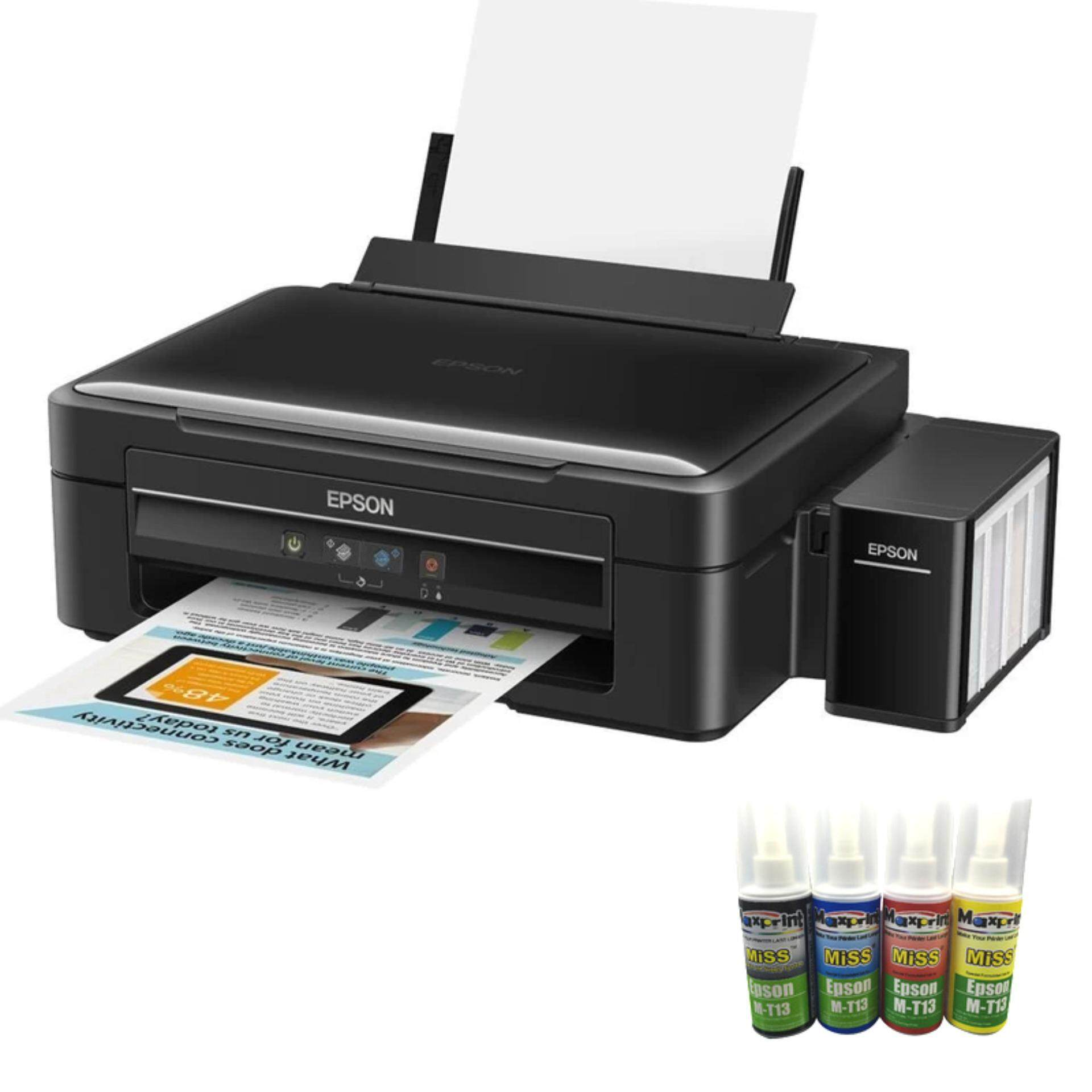 wedding card printing malaysiprice%0A Epson L    AllInOne  Print Scan Copy  Tank System