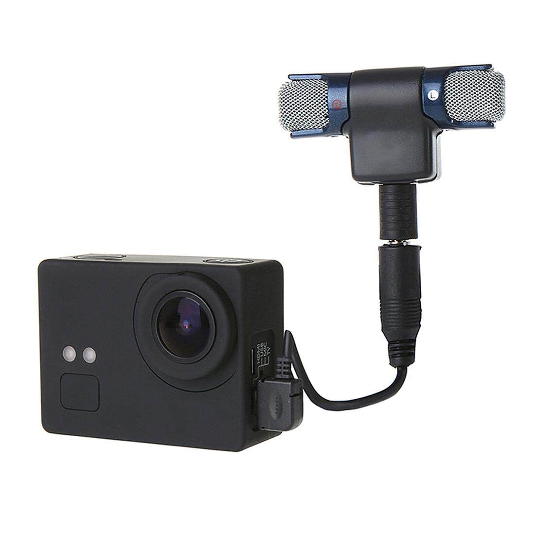 External Mini Stereo Mic Microphone With 17cm 35mm To Usb 10pin Kabel Adapter Cable For Gopro Hero 3 Thb 287 5mm 10 Pin