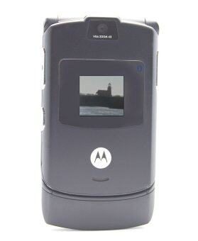 (FACTORY REFURBISHED) Motorola V3 RAZR Grey