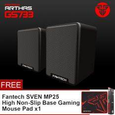Fantech Arthas GS733 Gaming and Music Mobile Speakers with Bass Resonance Membrane for Computer PC or Laptop Malaysia
