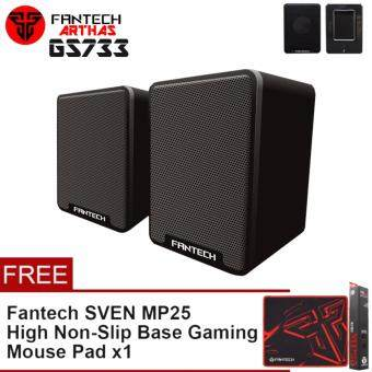Fantech Arthas GS733 Mobile Gaming and Music Speakers with Bass Resonance Membrane (Black)
