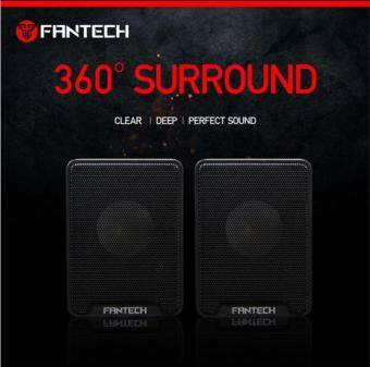 Fantech Arthas GS733 Mobile Gaming Music Speakers with Bass Resonance - Black + FREE MP25 Mouse Pad Malaysia