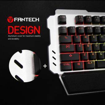 Fantech ECLIPSE K710 Semi-Mechanical Switches RGB Light Gaming Keyboard + FREE Super Clean Gel + FREE MP25 Mouse Pad Malaysia