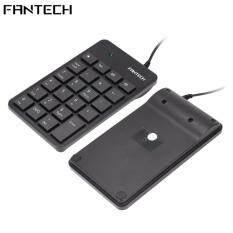 Fantech FTK-801 Numberic Keypad With 4 Office HotKeys Malaysia