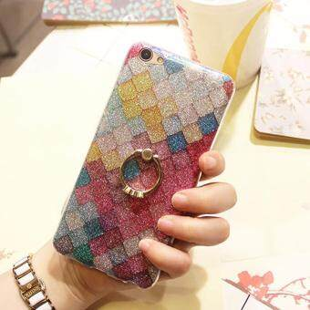 Fashion Glitter Bling Scales Squama Phone Cases For OPPO R9S BackCover Shell with Kickstand
