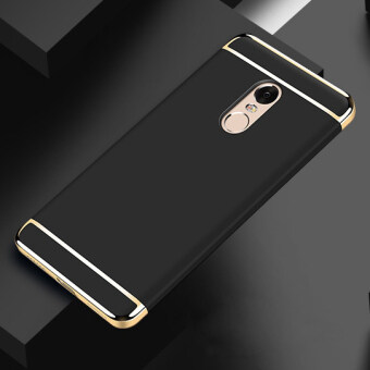 Fashion Plating Matte Frosted Case 3 in 1 PC Back Cover for Xiaomi Redmi Note 4