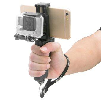 Fat Cat Hand Grip Stabilizer w/ Phone Clamp for GoPro Hero 4 3+ 3 2 - 5