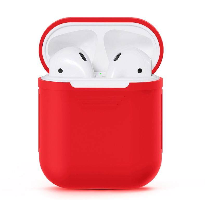 For Apple AirPods Portable Wireless Bluetooth Earphone Silicone Protective Box iPhone Anti-lost Dropproof Storage