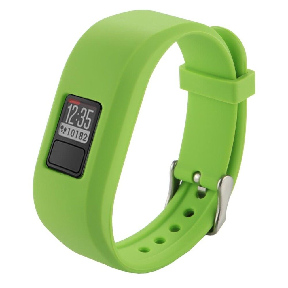 For Garmin Vivofit 3 Smart Watch Silicone Watchband, Length: about 24.2cm(Green) - intl