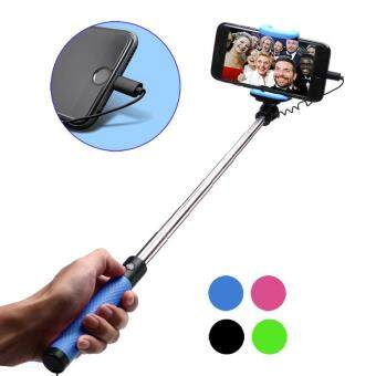 Harga For iPhone 7 / 7 Plus Selfie Stick Monopod Mini With LightningConnector Button Handle Monopod For IOS iPhone 6 6S Plus 5 5S