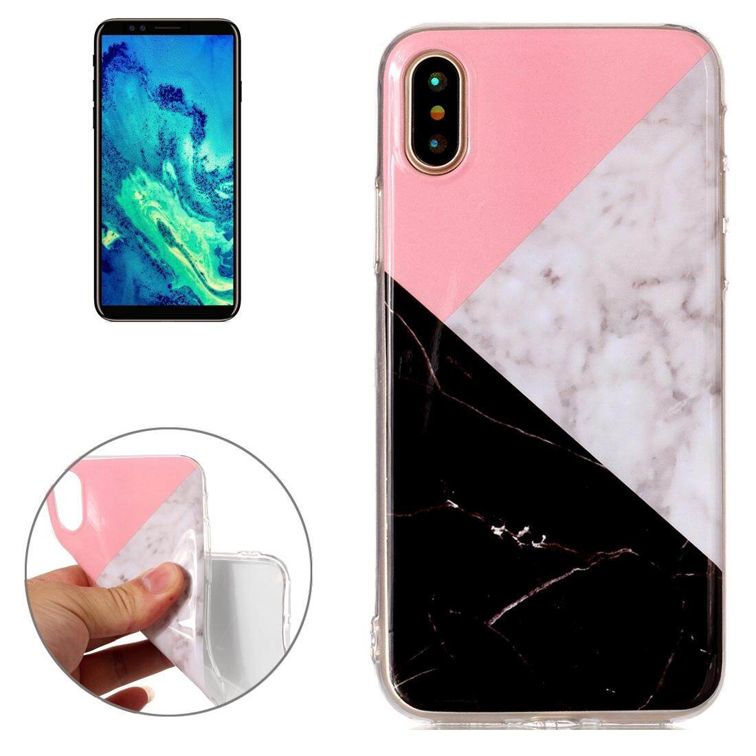 Check For Price Of Iphone 8 7 White Gold Marble Pattern Soft Goospery X Feeling Jelly Case Black Pink Color Matching Tpu Shockproof Protective Back Cover