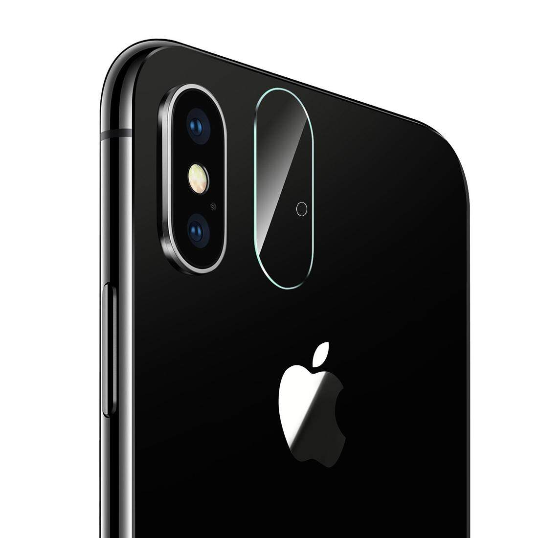 For iPhone X Rear Camera Lens Protector Tempered Glass Protective Film with Holes - intl