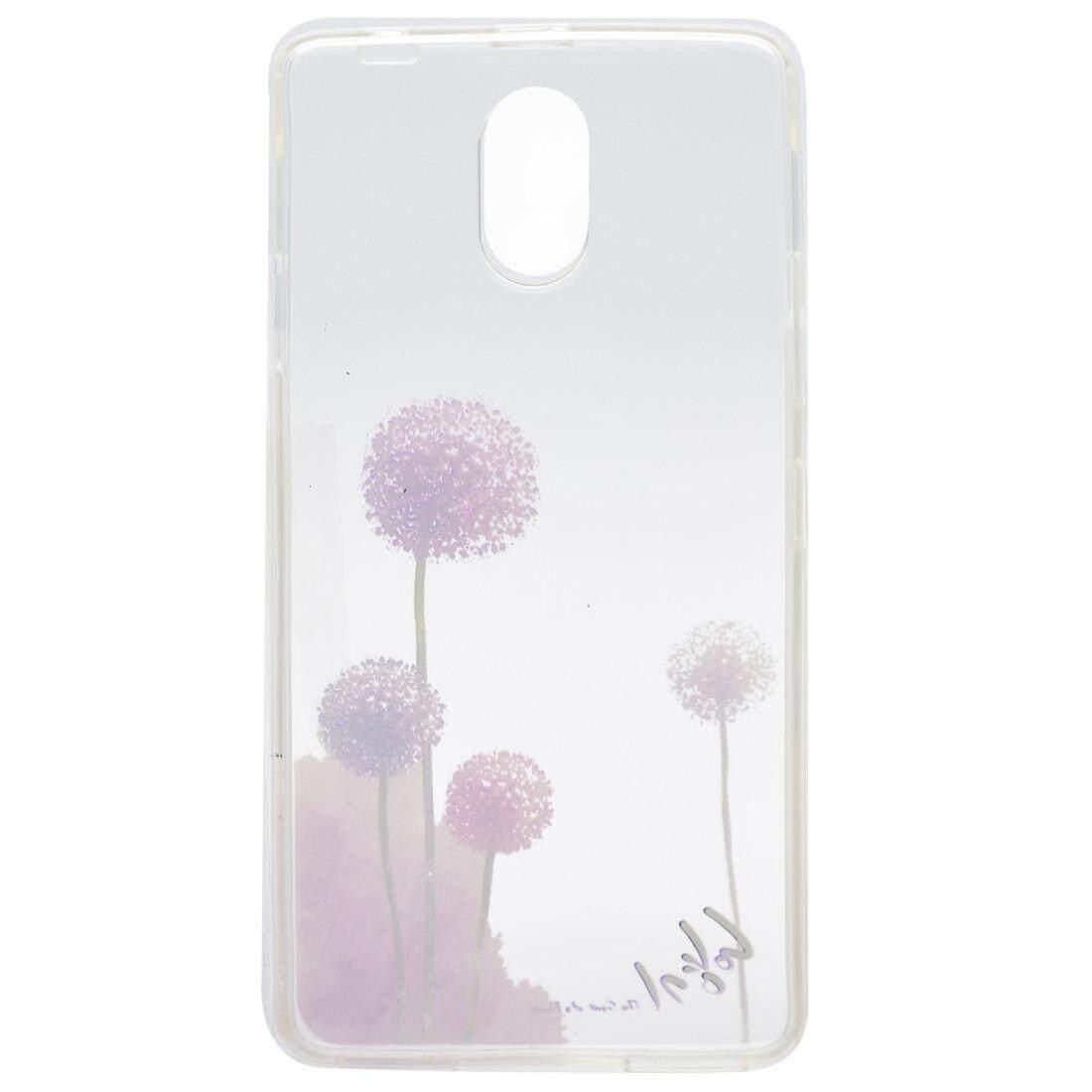 ... For Lenovo VIBE P1m Dandelion Pattern Transparent Soft TPU Protective Back Cover Case - intl ...