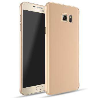 For Samsung Galaxy Note 5 Full Body Hard PC Smooth Grip Back Case Cover ( Golden