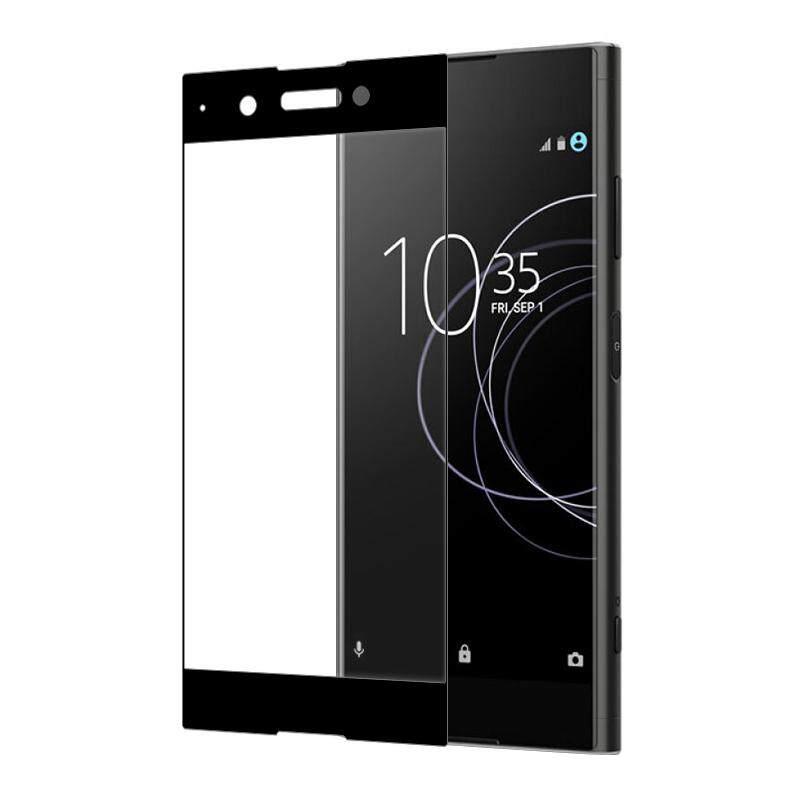 Untuk Sony XA1 Plus Anti-Crash Pelindung Layar Penuh Kaca Temper-Internasional