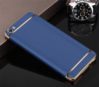 For vivo Y53 3 in1 Full Protection Ultra Slim Hard matte Phone Case Anti falling Cover