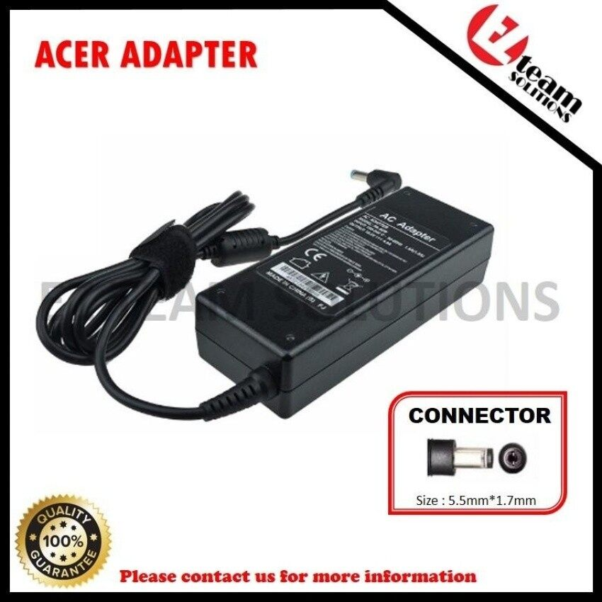 (Free Courier) Replacement Laptop/Notebook AC Adapter Charger ForAcer Aspire V5-132P-10194G50nss 19V 4.74A (90W) 5.5*1.7mm &nbsp - intl