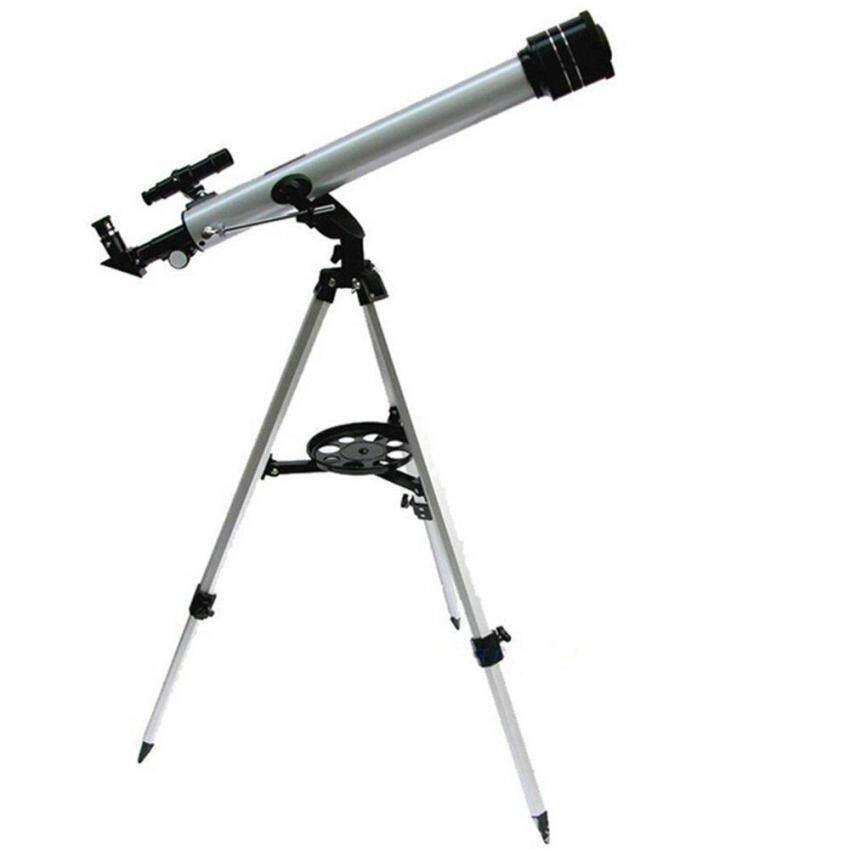 (Free Spot Watch) F60700 Refractive 525 X Zoom Astronomical Telescope (700/60mm) Monocular Telescope for Astronomical Observation With 360 Degree Adjustable Aluminum Tripod